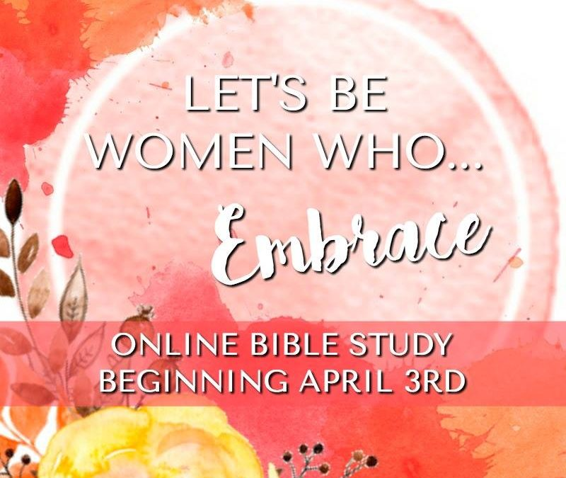Spring Brings New Opportunities ~ Online Bible Study