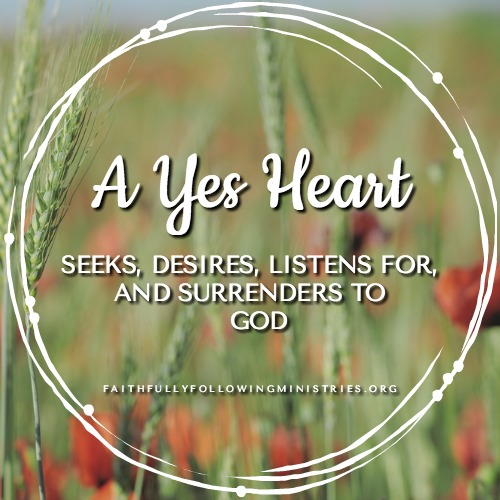 Day 11: Praying Brave with a Yes Heart