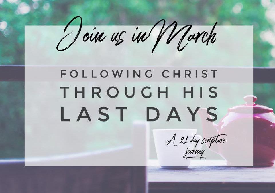 21 Days, Walking Verse by Verse with Jesus