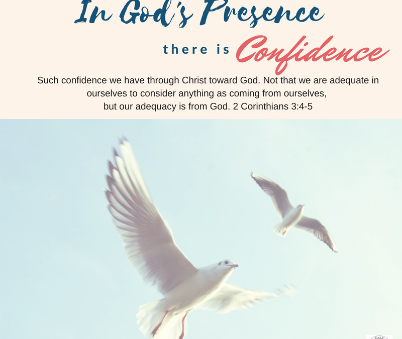 Day 12~ In God's Presence there is Confidence