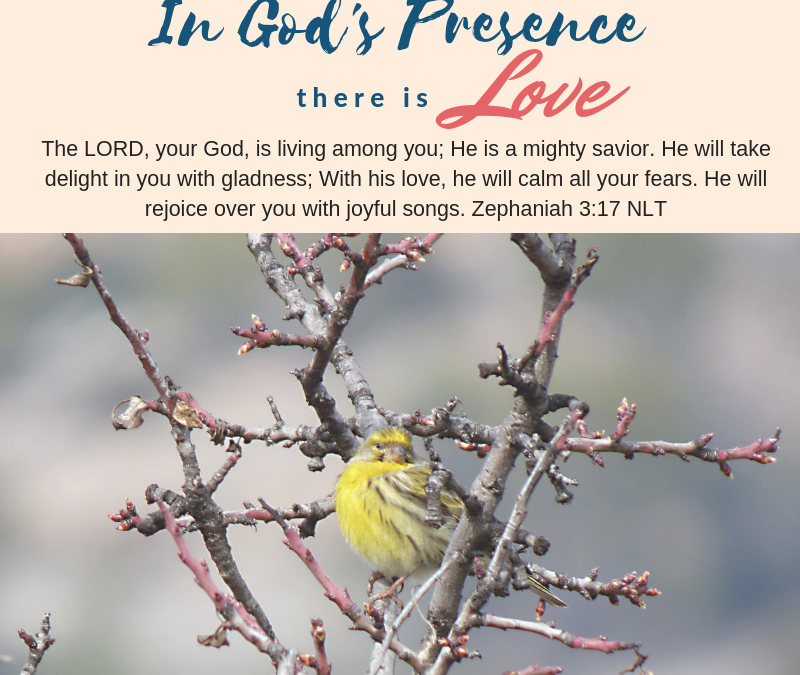 Day 13~ In God's Presence there is Love