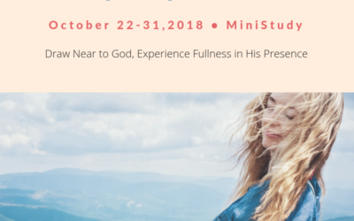 Recap- In God's Presence Part 1
