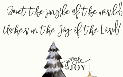 Quiet the Jingle, Usher in the Joy!