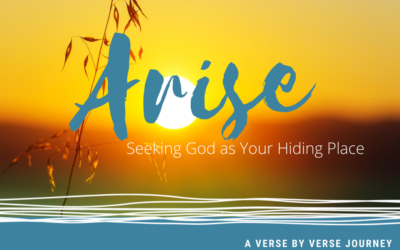 Arise. Seek God as Your Hiding Place (Mini-Study details and downloads)